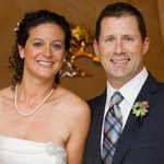 bride groom thank you sign santa barbara rockwood woman's club