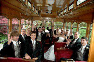 WeddingPartyonTrolley