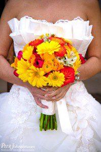 santa barbara wedding coordinator flowers bouquet