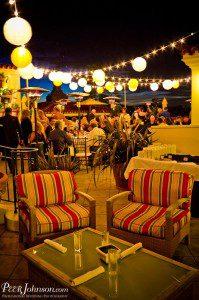santa barbara wedding canary hotel rooftop