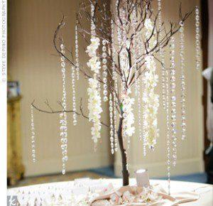 manzanita branches wedding centerpiece santa barbara