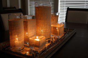 burlap_candle_wedding_centerpiece_ideas