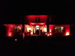 santa barbara style wedding design red house