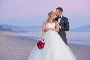 bride groom beach santa barbara